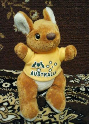 Мягкая игрушка кенгуру Australia Австралия с Европы