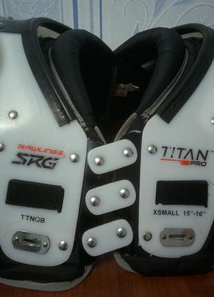 Каркас для американского футбола Rowlings Titan Pro TTNQB Size XS