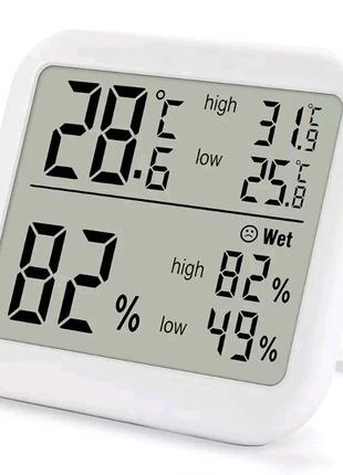 Цифровой термометр-гигрометр, измеритель температуры и влажности