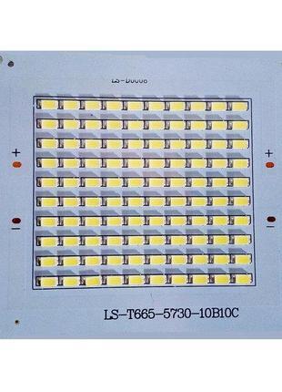 Cветодиодная матрица 50W SMD5730 100шт. led 50w 110х99 мм