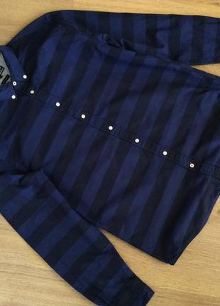 Мужская рубашка tommy hilfiger оригинал р l (m)