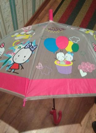 Разные детские зонтики