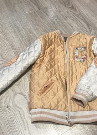 Куртка-бомбер на девочку