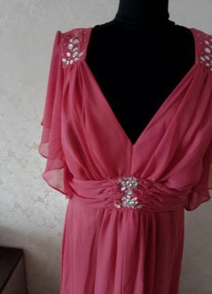 Платье нарядное большой размер