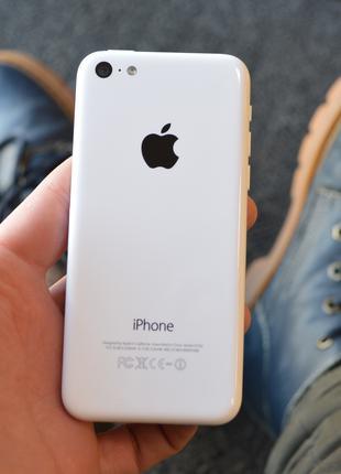 iPhone 5c 16Gb White Neverlock Гарантия Стекло в подарок