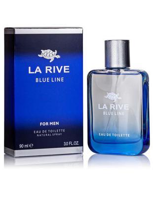 Тестер Туалетная вода La Rive BLUE LINE мужская 90мл Польша!