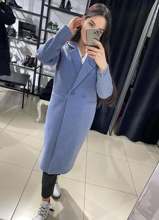 Пальто женское демисезонное ниже колена на весну осень