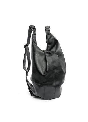 Мужской черный рюкзак-сумка, мужская спортивная сумка polo vicuna