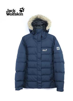 Женская  пуховая куртка jack wolfskin оригинал