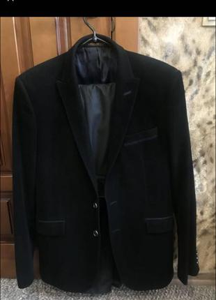 Пиджак велюровый federico cavalinni