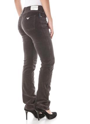 Велюровые джинсы armani jeans  р.m и l