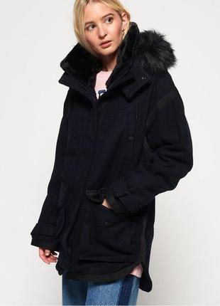 Куртка пальто парка superdry