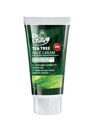 Сашет крем для лица с маслом чайного дерева dr. tuna farmasi