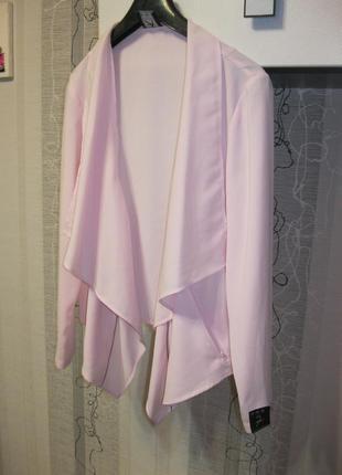 Новый зефирный пиджак косуха бомбер 16, ххл, 50