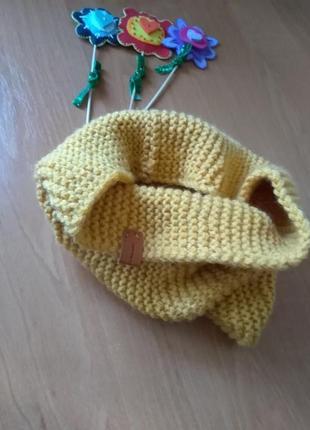 Снуд, хомут, круговой шарф