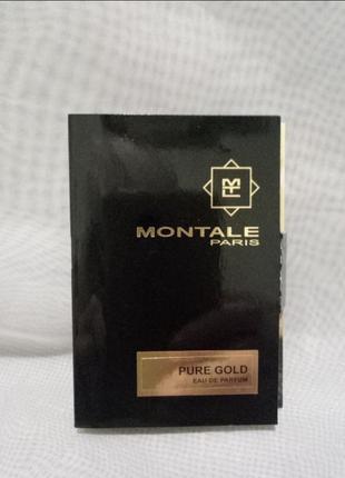 Montale pure gold пробник 2мл оригинал