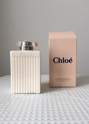 Парфюмированный лосьон для тела chloe eau de parfum. 200 мл