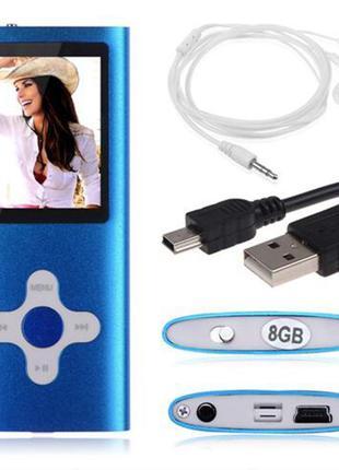 Mp4 player плеер 8Gb памяти под Apple Nano синий