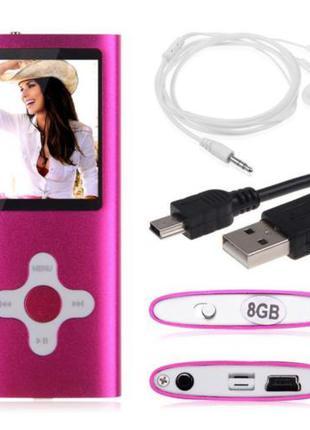 Mp4 player плеер 8Gb памяти под Apple Nano розовый