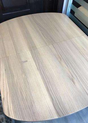 Стол-трансформер из натурального дерева