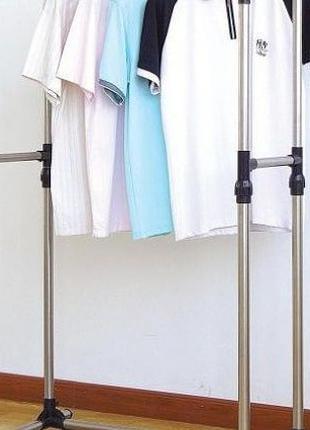 Стойка для одежды двойная