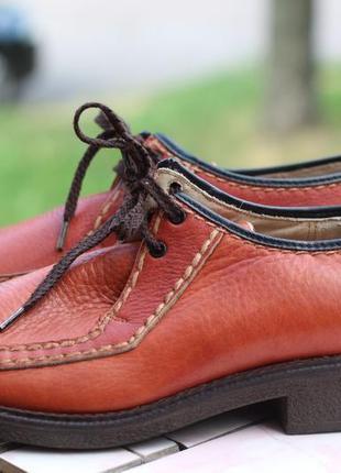 Крутые фирменные туфли. натур. кожа