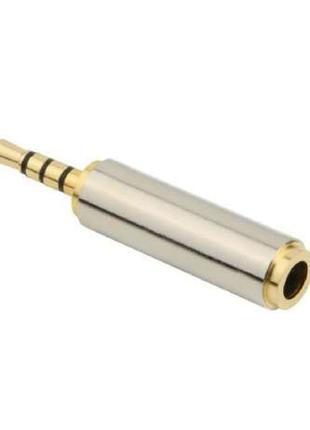 Аудио переходник джек с 2.5мм на 3.5мм jack с 2,5mm 3,5mm наушник