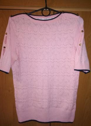 Кофта блузка ажурная