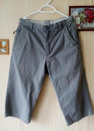 Мужские джинсовые шорты/бриджи из натурального материала
