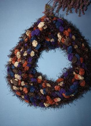 Фактурний кольоровий баф шарф