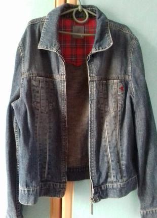 Мужской джинсовый пиджак ESPRIT jeans