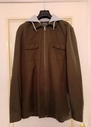 Куртка  верхняя рубашка в стиле милитари сафари военная унисекс