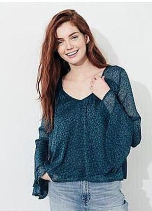 Воздушная блуза hollister р.s