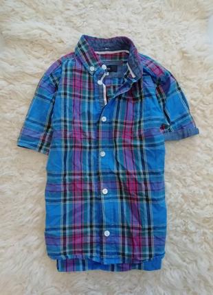 Стильная рубашка на 3-4 года