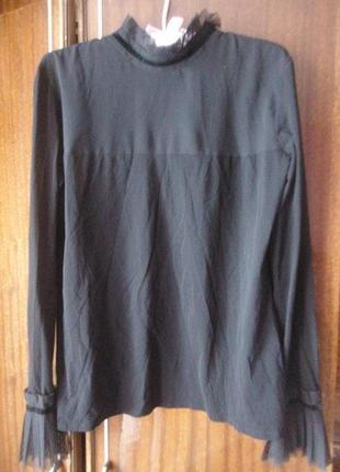 Женственная блуза, длинный рукав