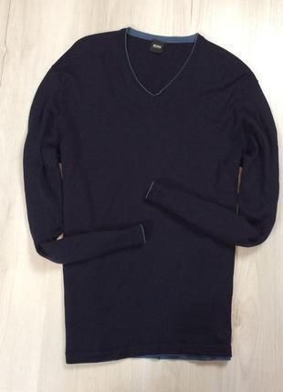 F7 шерстяной пуловер hugo boss хуго босс хьюго бос
