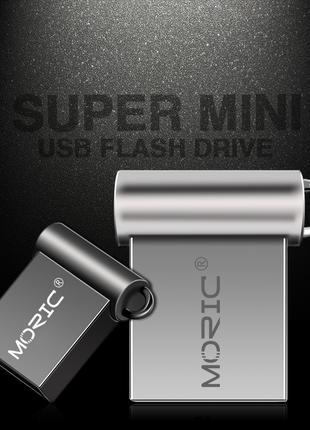USB флешка 32 Gb. Ультракомпактная, идеальная для автомагнитолы.