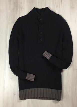 F7 свитер hugo boss хуго хьюго босс бос чёрный