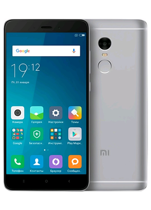 Xiaomi Redmi Note 4 4/64 Grey + ЧЕХОЛ