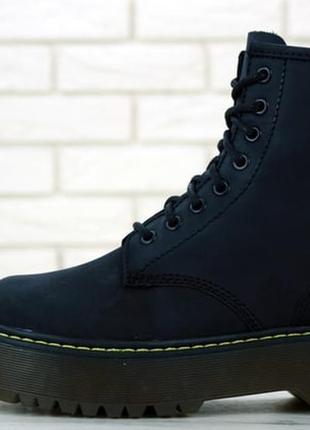 💖dr. martens jadon💖женские осенние ботинки, мартинсы кожаные ч...