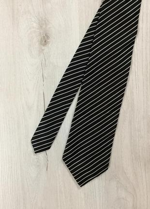 F6 галстук hugo boss чёрный хуго босс хьюго бос