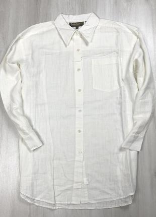 Z7 полульняная рубашка timberland тимберленд рубашка мужская к...