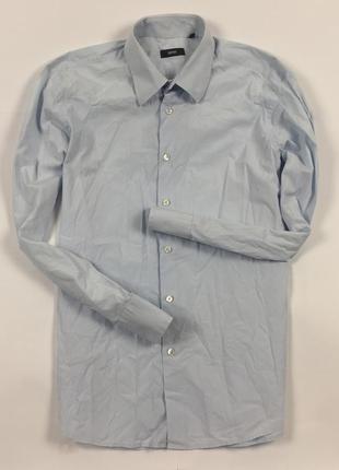 Z7 рубашка hugo boss хуго босс хьюго серая