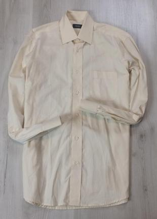 Z7 приталенная рубашка hugo boss хуго босс белая хьюго