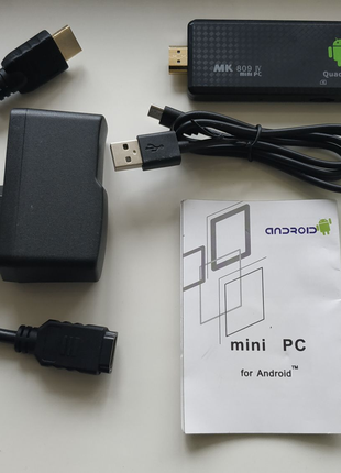 MK809 IV Android 4.4 ТВ-приставка, 4-х ядерный. Smart TV