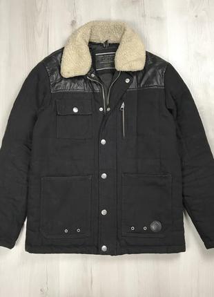 F9 куртка zaraman мужская черная куртка ветровка зара