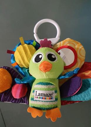 Развивающая мягкая игрушка ламазе lamaze