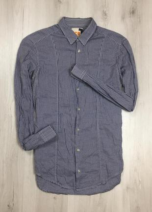 Z7 приталенная рубашка hugo boss orange хуго бос хьюго босс кл...