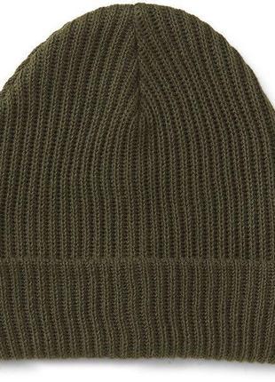 Aeropostale solid slouch beanie - теплая вязаная шапка-бини ам...