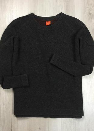 F7 свитер шерстяной hugo boss хуго босс хьюго бос кофта